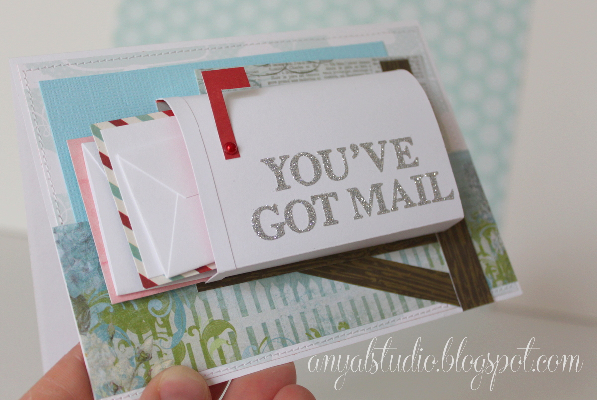 my creative corner quot you 39 ve got mail quot card