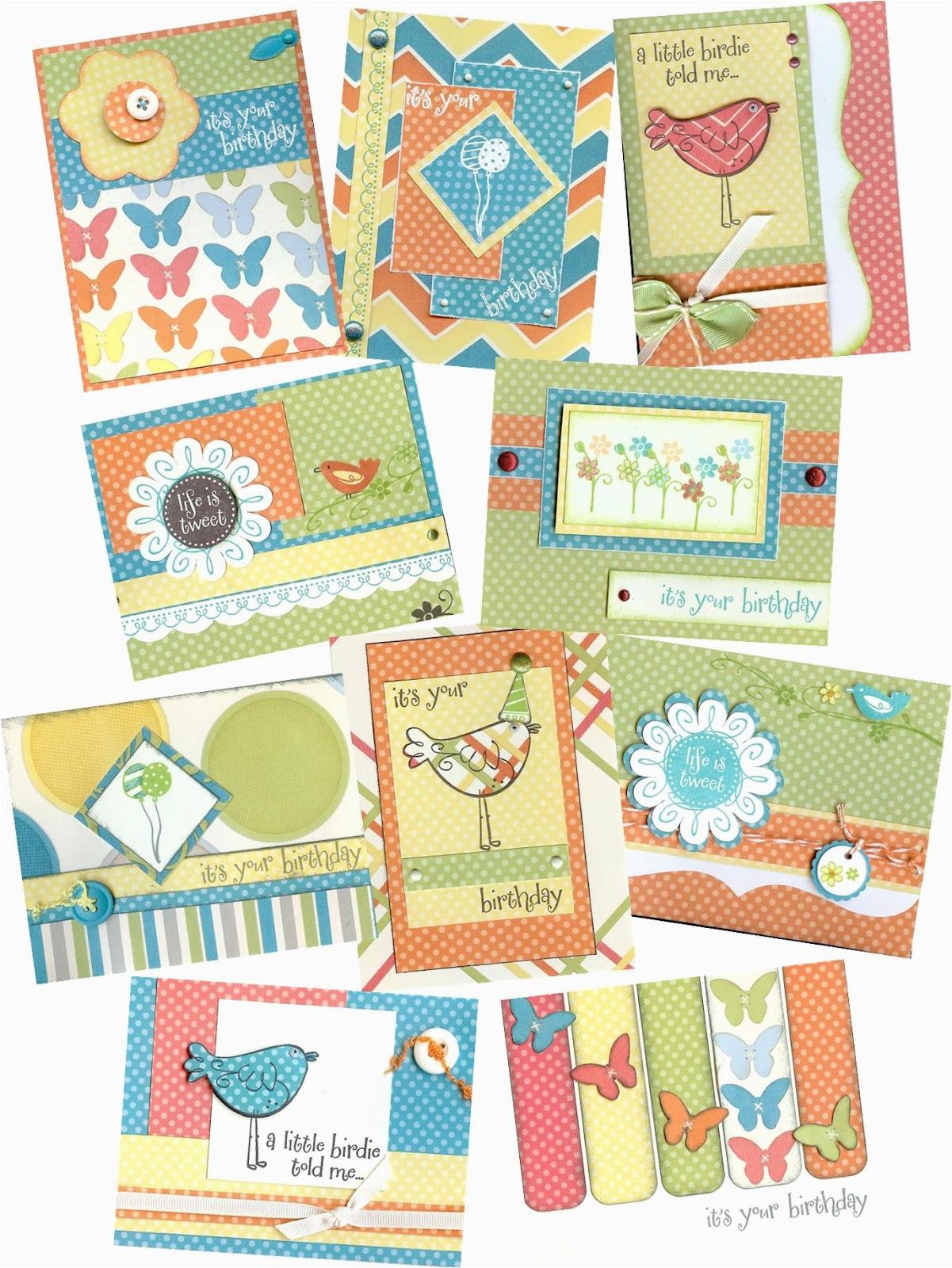 kimberly thomas papercrafter 20 card mail order kits