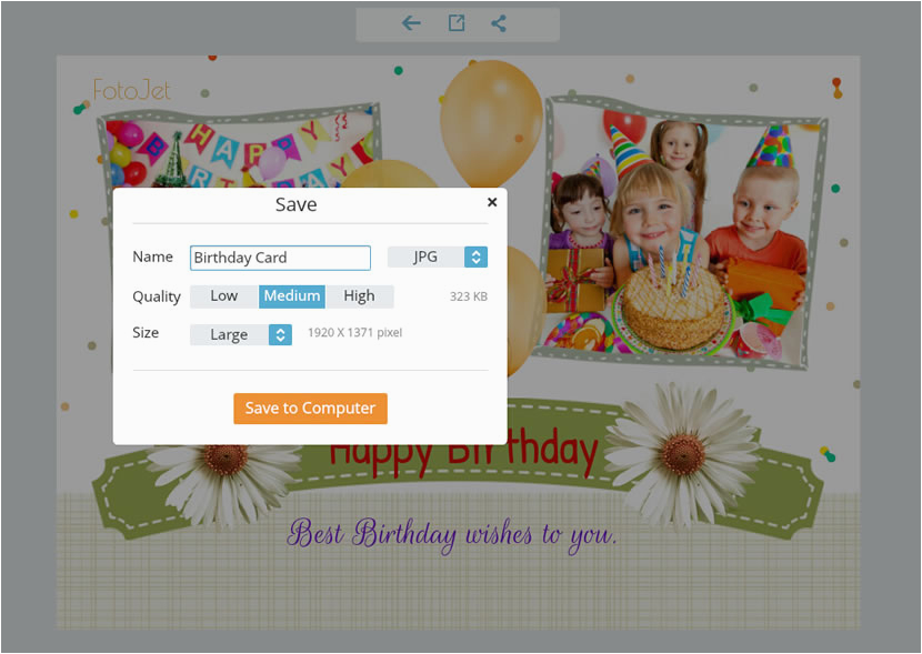 make free printable birthday cards for your loved ones