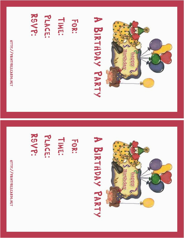 create free birthday invitation card online jin s