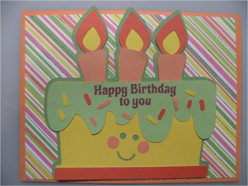 Make A Personal Birthday Card For Free Easy To Homemade With Cricut