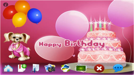 make birthday greeting cards free on the app store
