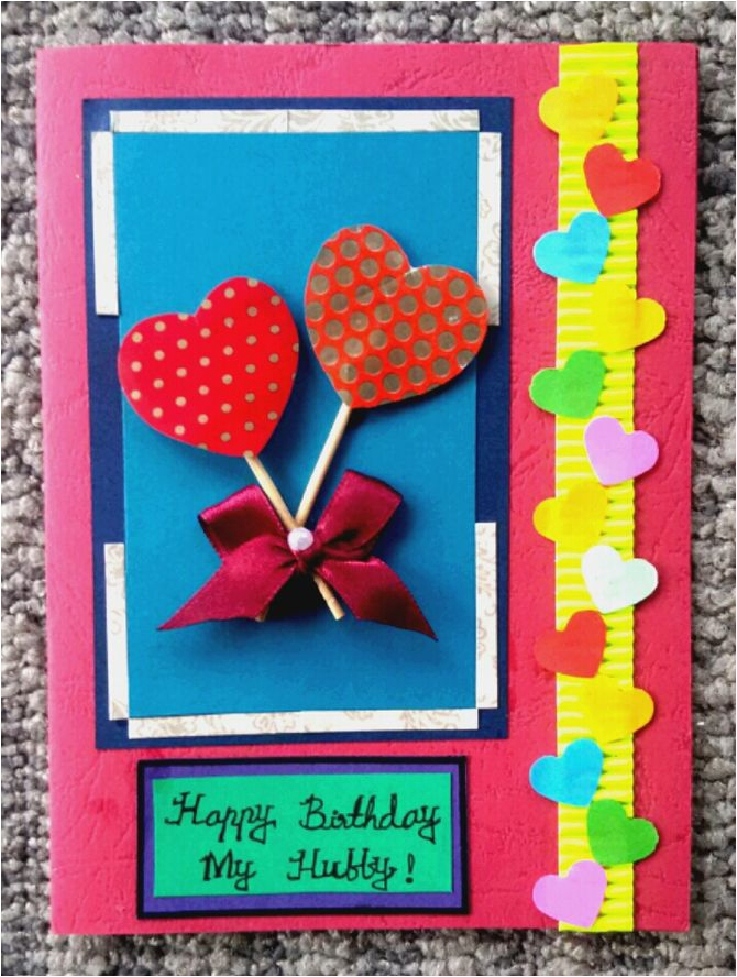 make a simple handmade birthday card