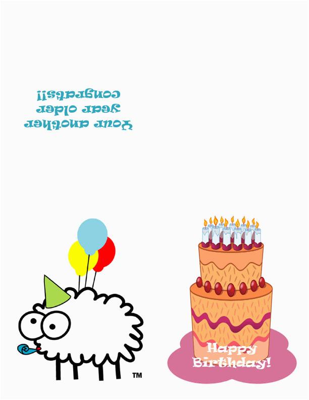 birthday card printout by rikusoreos on deviantart