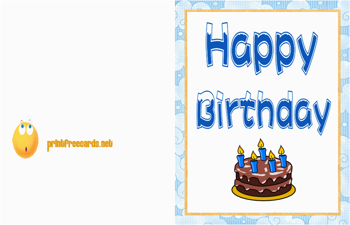 Make And Print Birthday Cards For Free How To Create Funny Printable