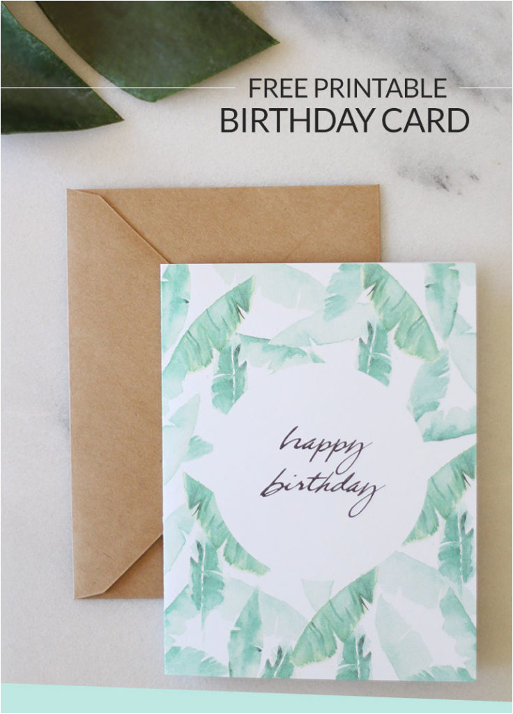 birthday wishes printable birthday card