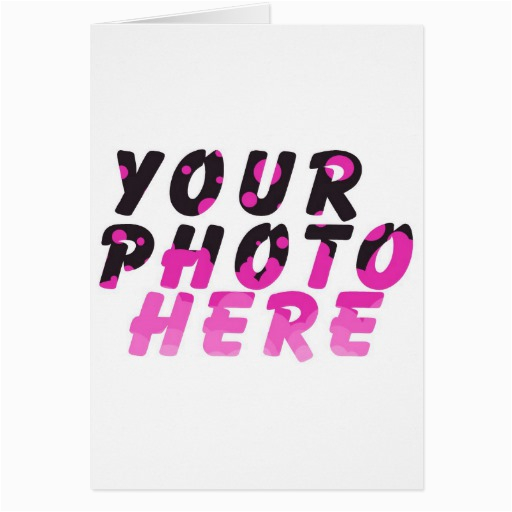 Make Birthday Cards Online With Photo Create Your Own Greeting Card Zazzle