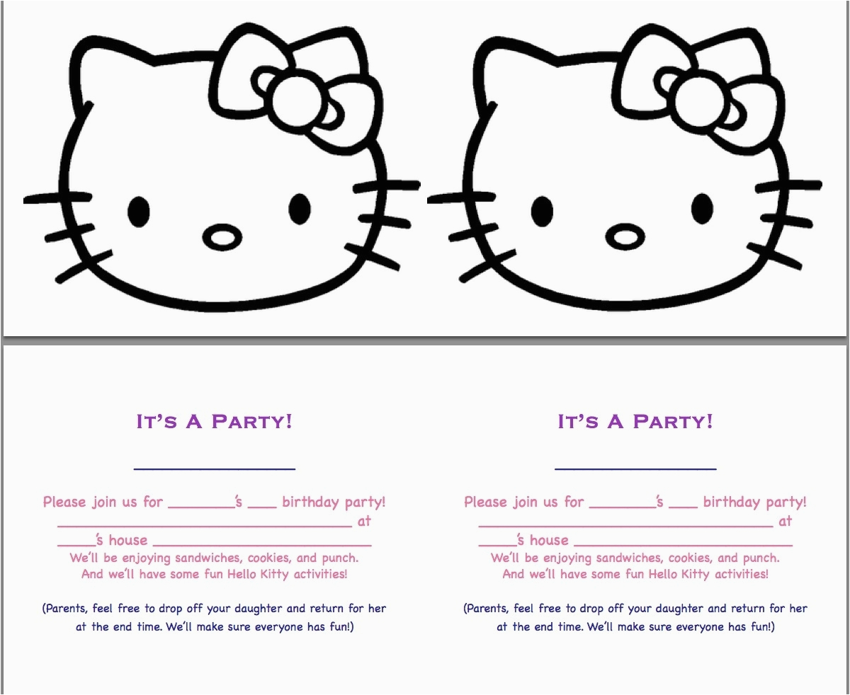 Make Your Own Birthday Invitations Online Free Printable Template Resume