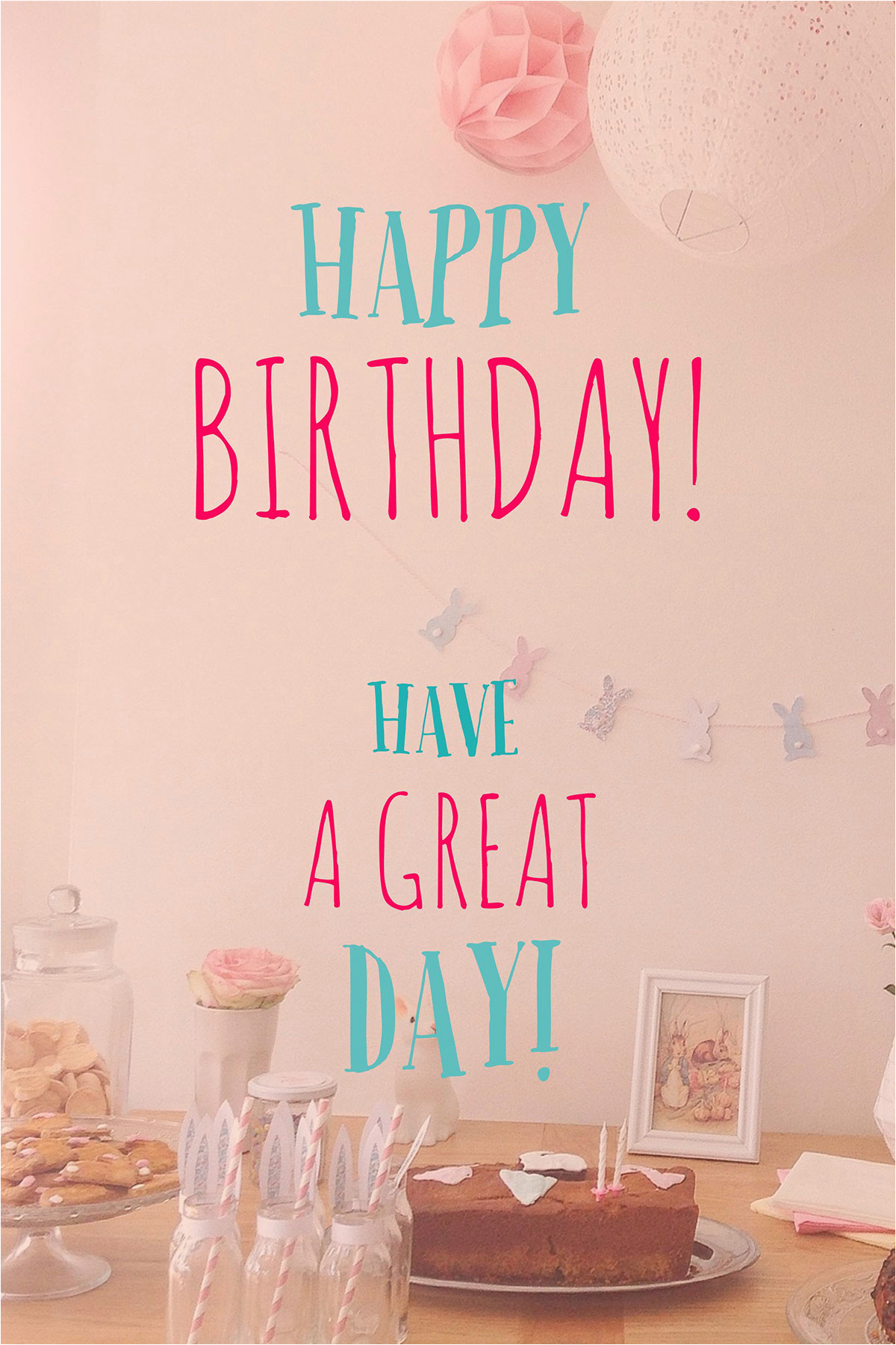 create your own happy birthday card
