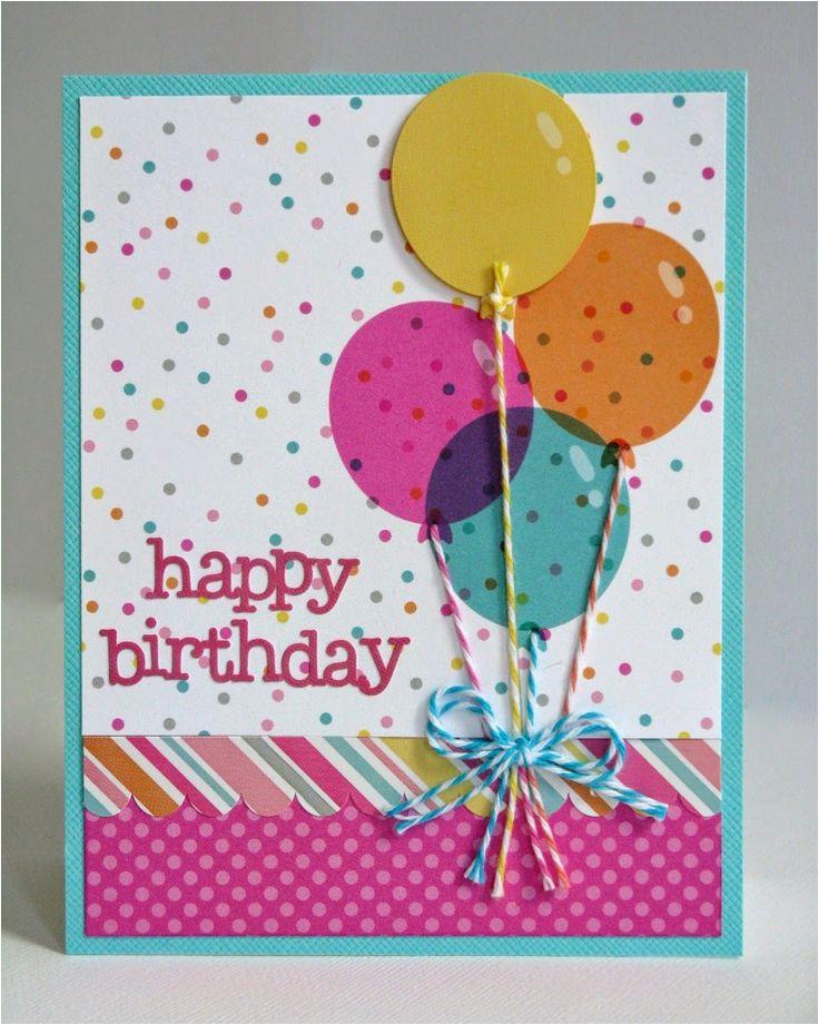 birthday card making
