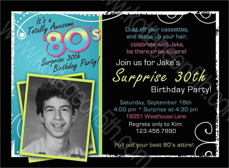 male 40th birthday invitations