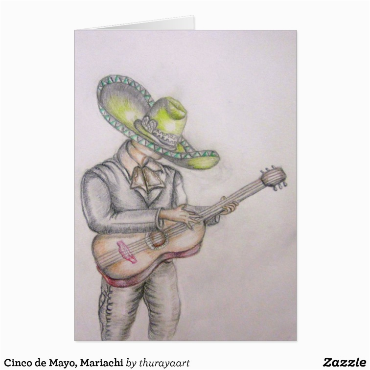 cinco de mayo mariachi card zazzle