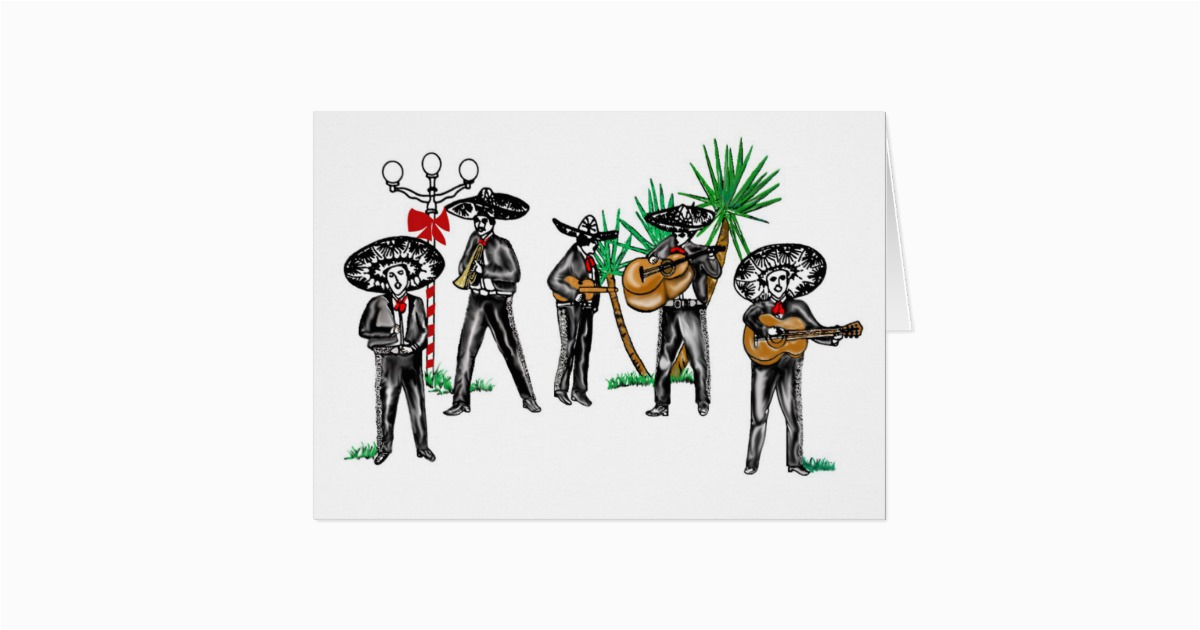 mariachi christmas card zazzle