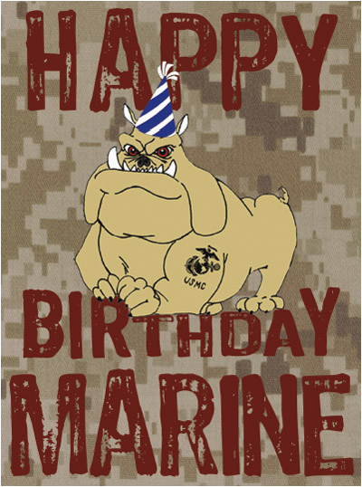 Marine Happy Birthday Card Shop Corps Package Of 6