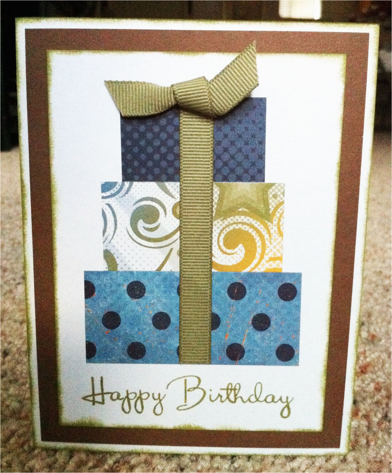 Masculine Birthday Cards to Make Playing with Paper Scrapbooks Cards Diy Masculine