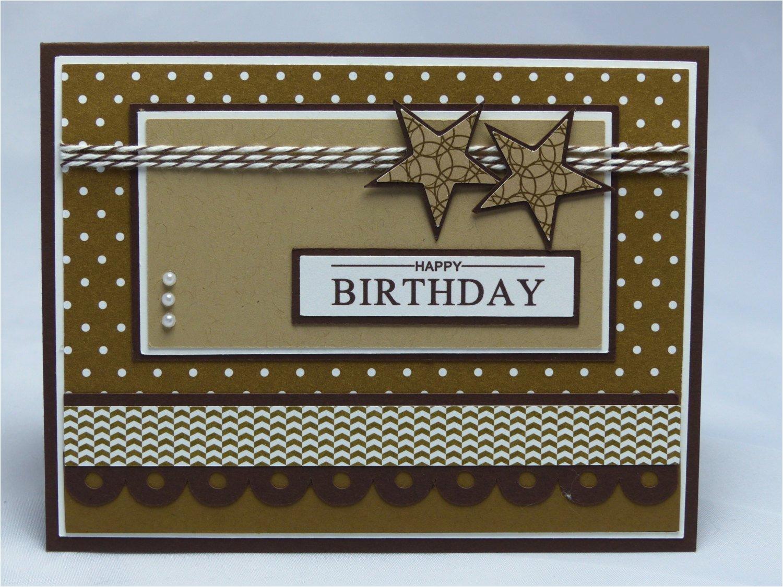 stampin up handmade greeting card happy birthday card