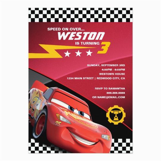 cars lightning mcqueen birthday card 256454434147851014