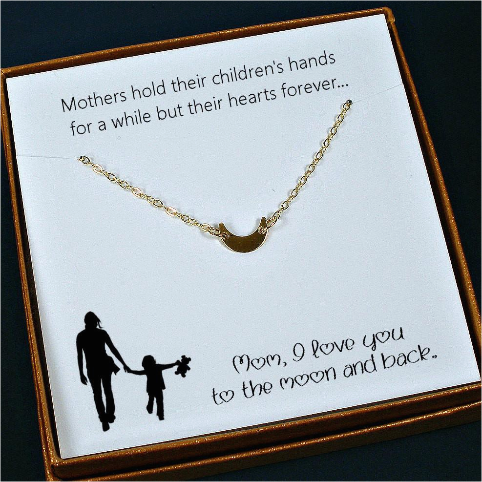 Meaningful Birthday Gifts For Her Mom Necklace Mother 39 S Day
