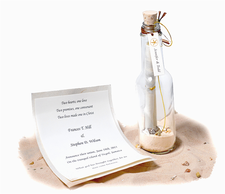 Message In A Bottle Birthday Invitations Message In A Bottle Invitation Hansonellis Com