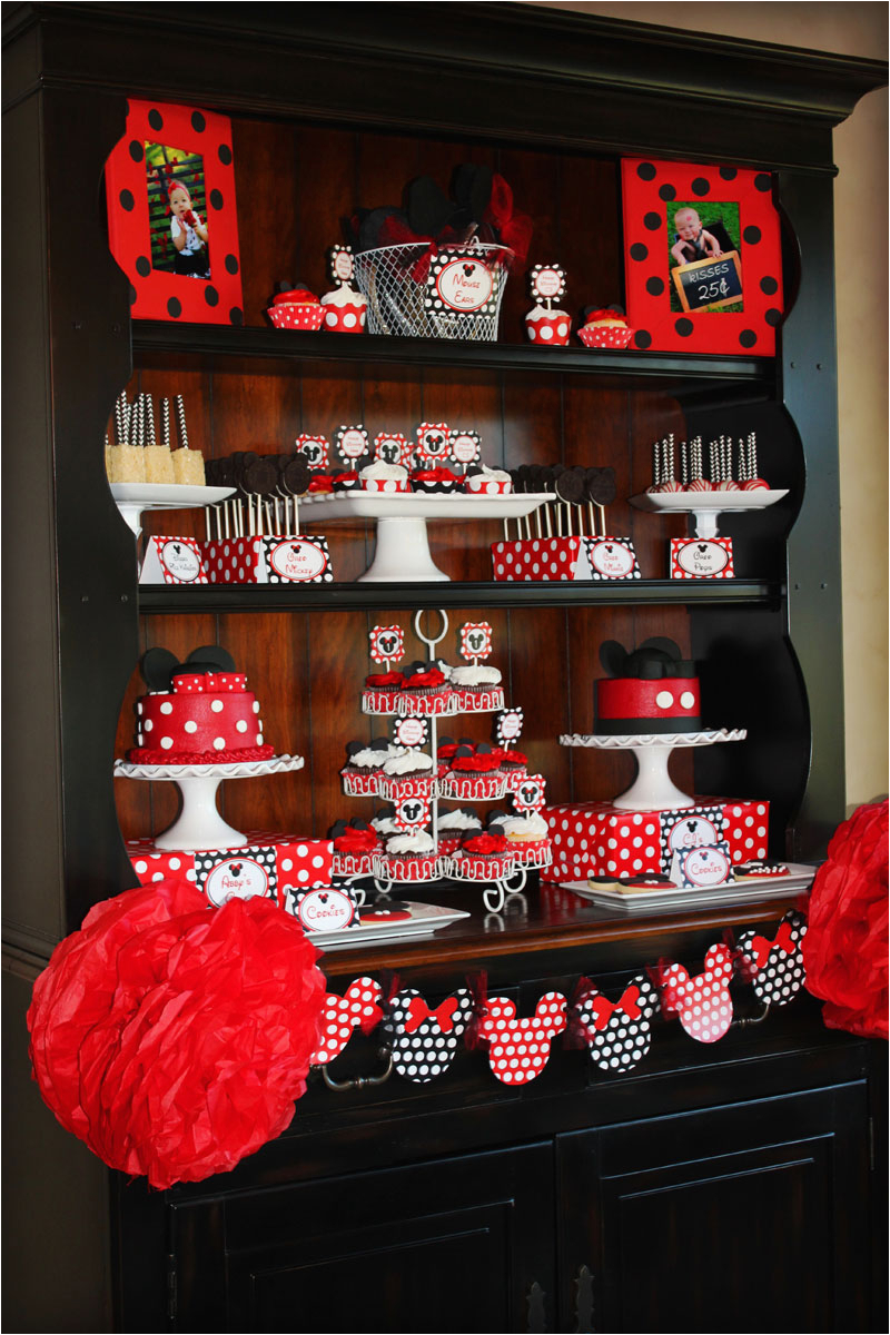 mickey minnie mouse party