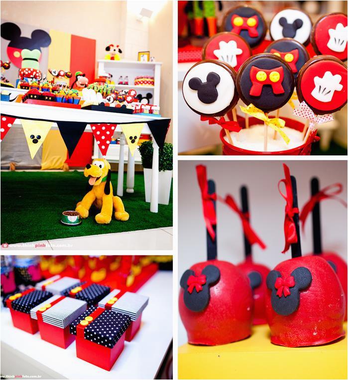 Mickey Mouse Birthday Decorations Cheap 1st Party Ideas Margusriga Baby