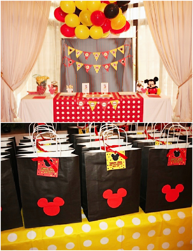 Mickey Mouse Birthday Decorations Cheap Ideas For Party Margusriga Baby