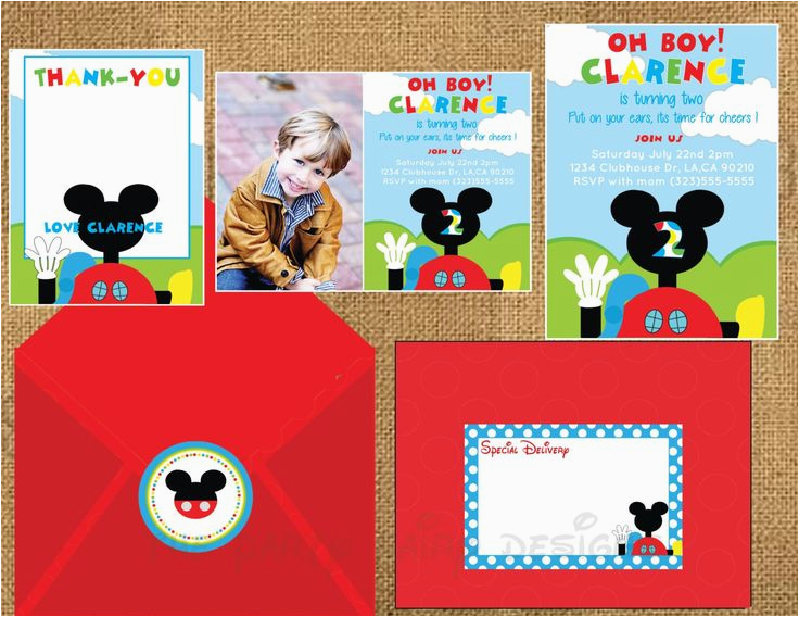 Mickey Mouse Birthday Invitations Walmart 99 Best Clubhouse Party Ideas Images On