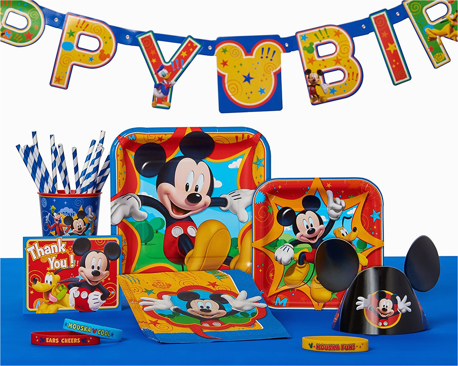 mickey mouse party supplies walmart com