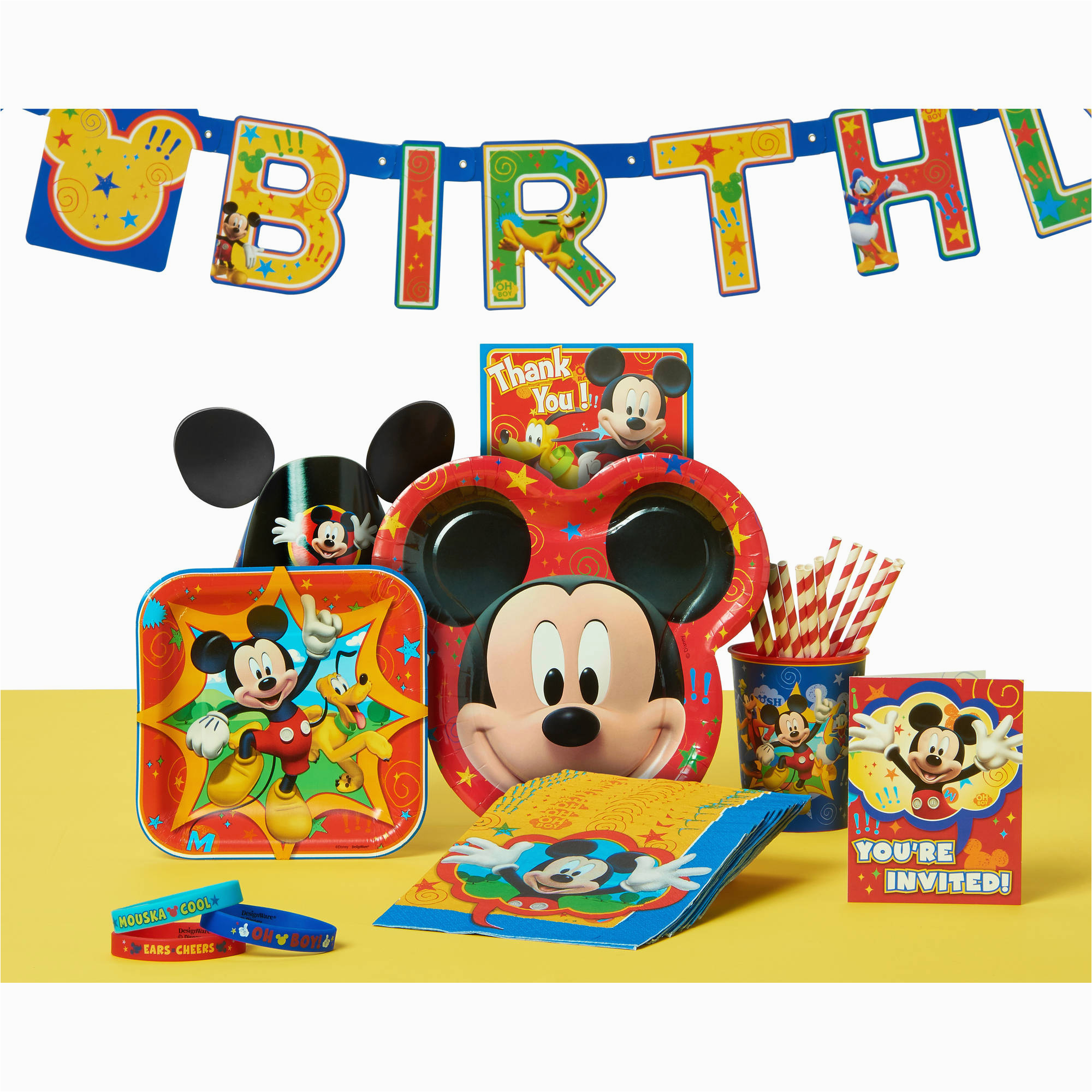Mickey Mouse Birthday Invitations Walmart Birthdaybuzz