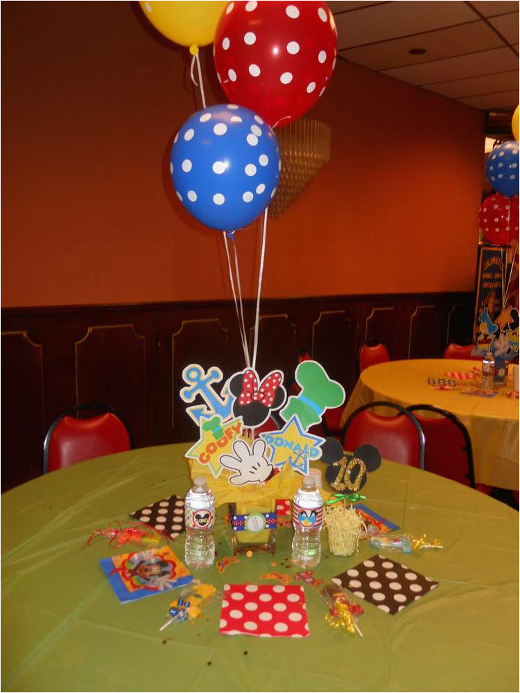 Mickey Mouse Clubhouse 1st Birthday Decorations Party Ideas Photo 3 Of