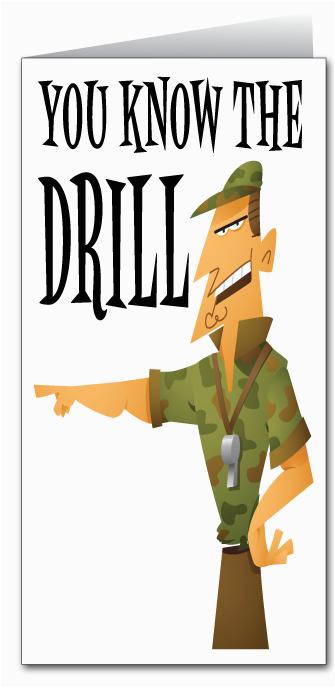 military drill sergeant happy birthday 80047 custom
