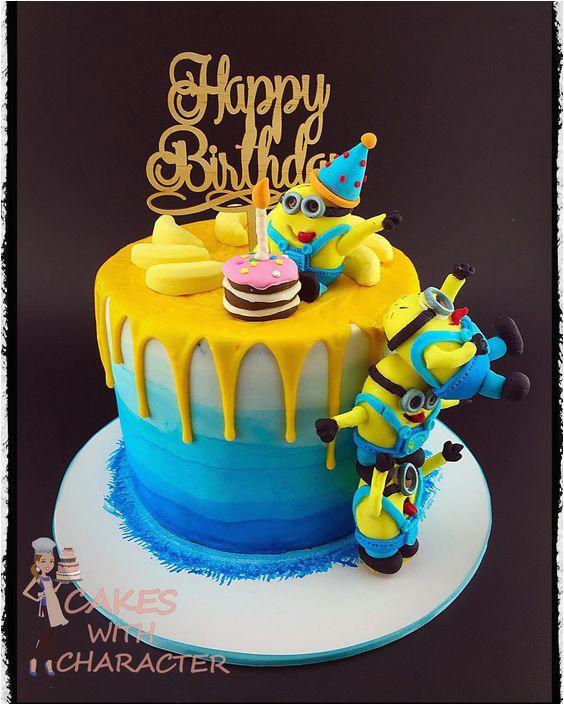 10 amazing minion birthday cakes