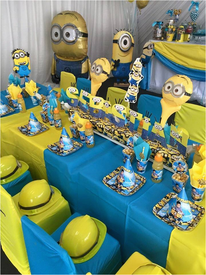 302 one in a minion 1st birthday party supplies
