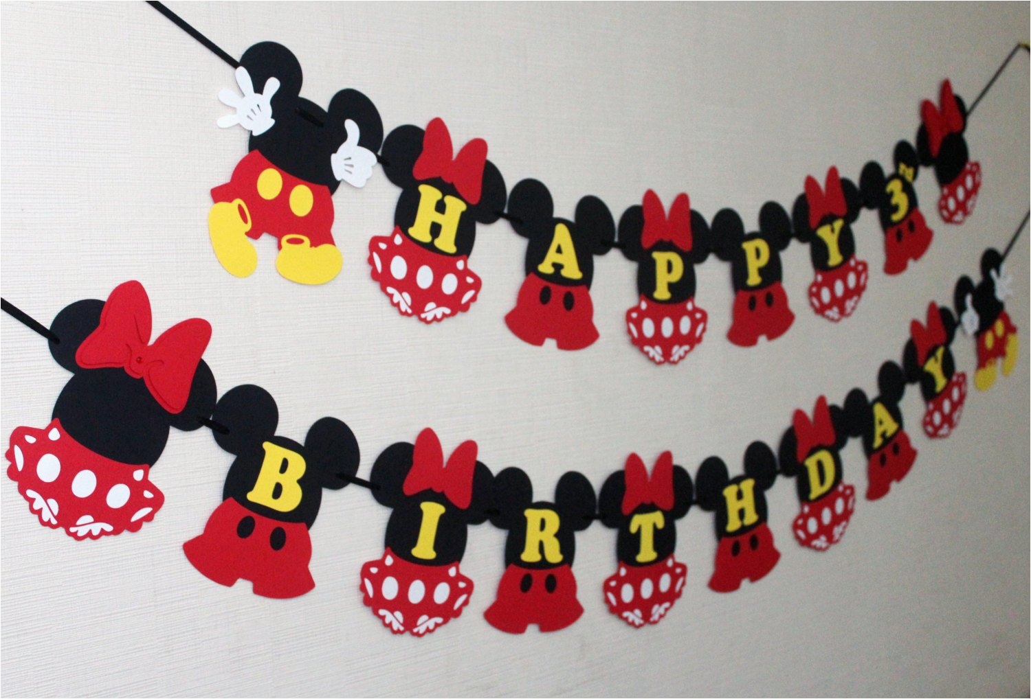 Minnie And Mickey Decorations For Birthday Mouse Inspired Disney