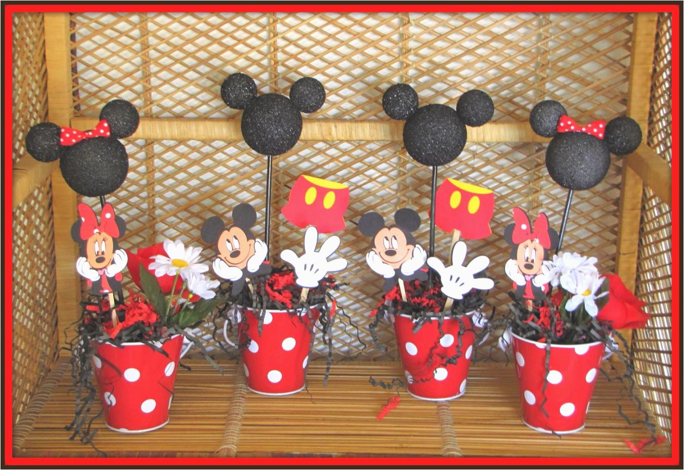 mickey minnie mouse birthday cake decorations tierra este 35016 mickey mouse party theme decorations