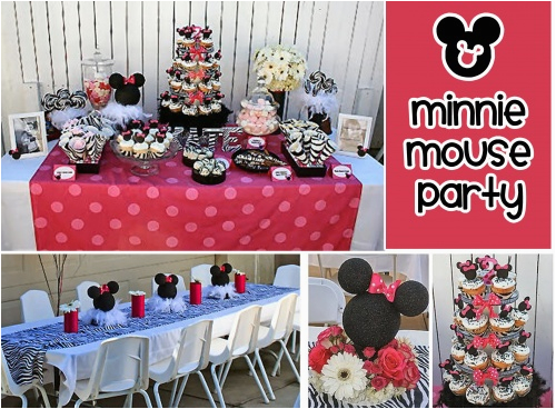 Minnie Mouse 1st Birthday Decoration Ideas Party New
