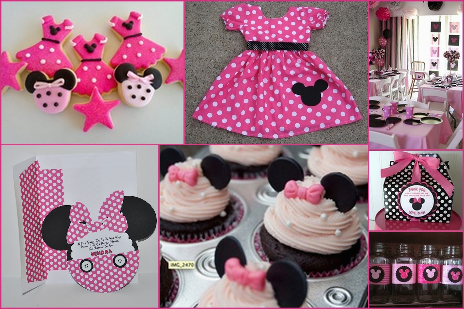 how to prepare minnie mouse birthday party