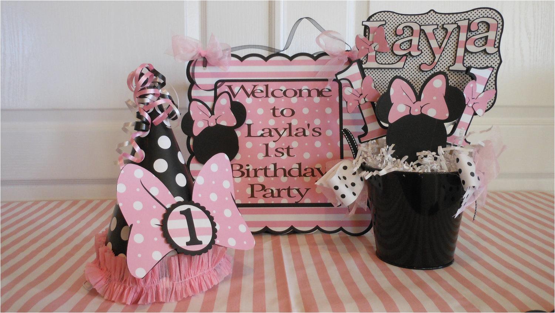 minnie mouse polka dot 1st birthday
