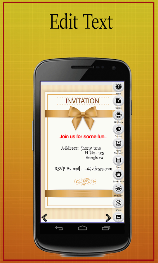 Mobile Birthday Invitations Party Invitation Card Maker Android Apps On Google Play
