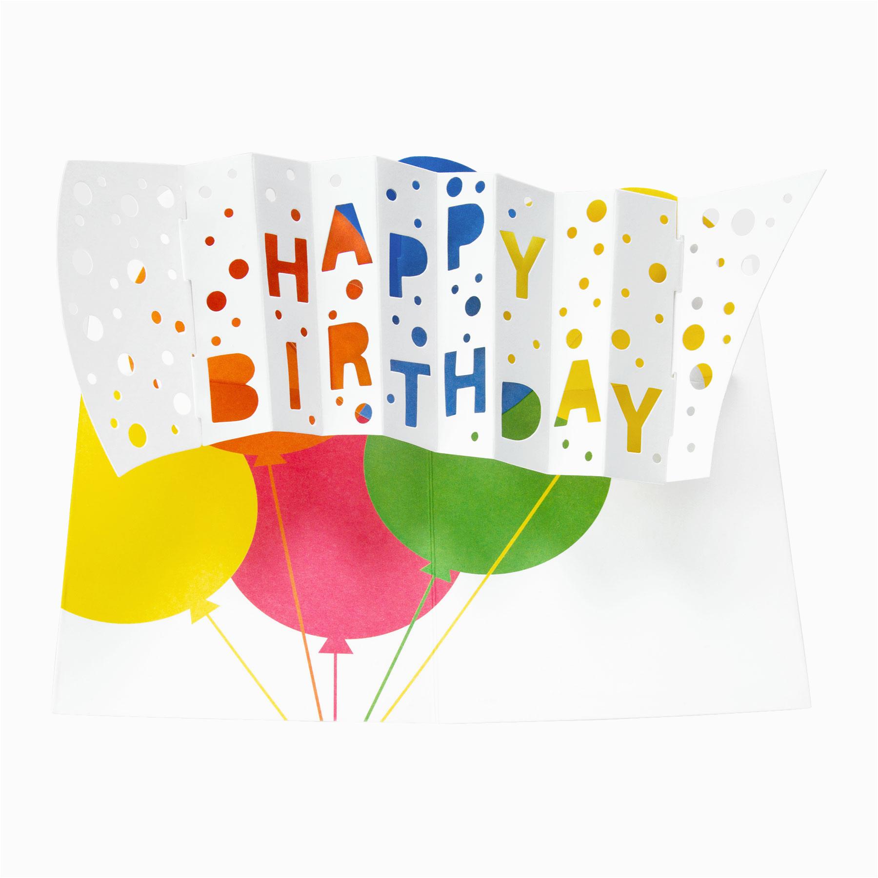 Moma Birthday Cards Moma Pop Up Happy Birthday Note Cards Ebay