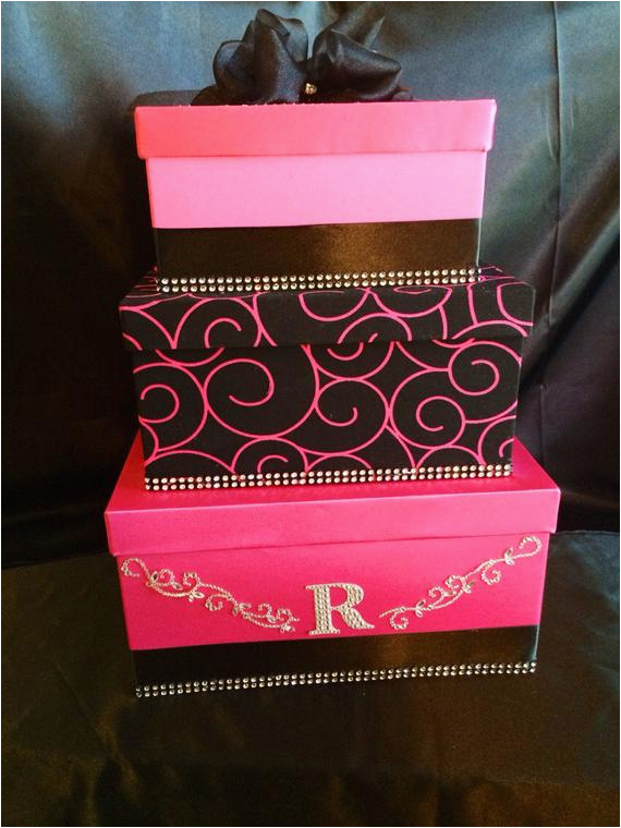 Money Card Boxes for Birthdays Wedding Card Box Money Card Box Birthday by