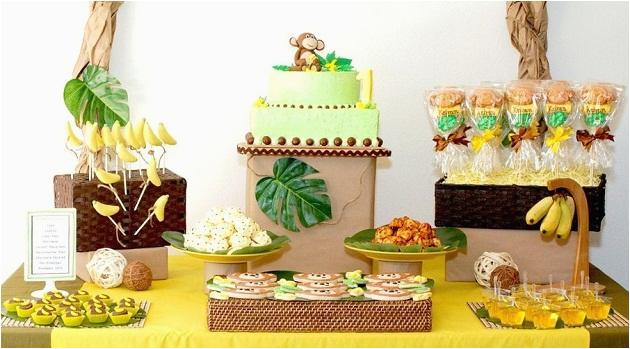 Monkey 1st Birthday Decorations Monkeys Bananas First Birthday Guest Feature