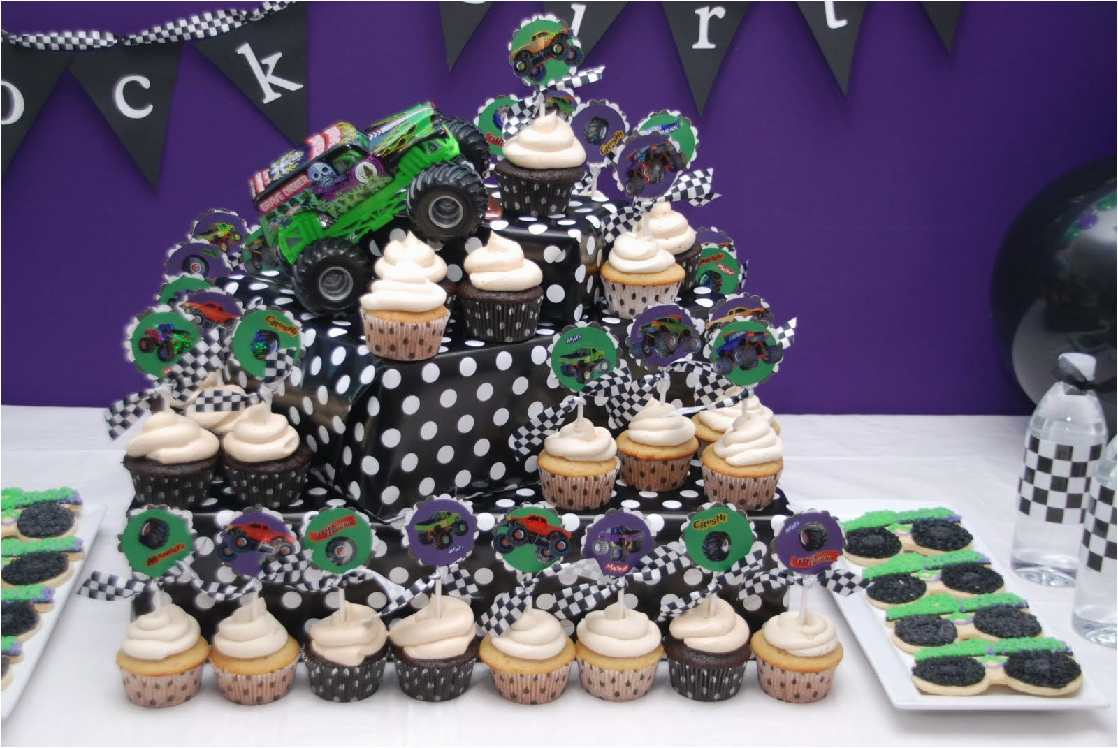 brocks monster truck 4th birthday party