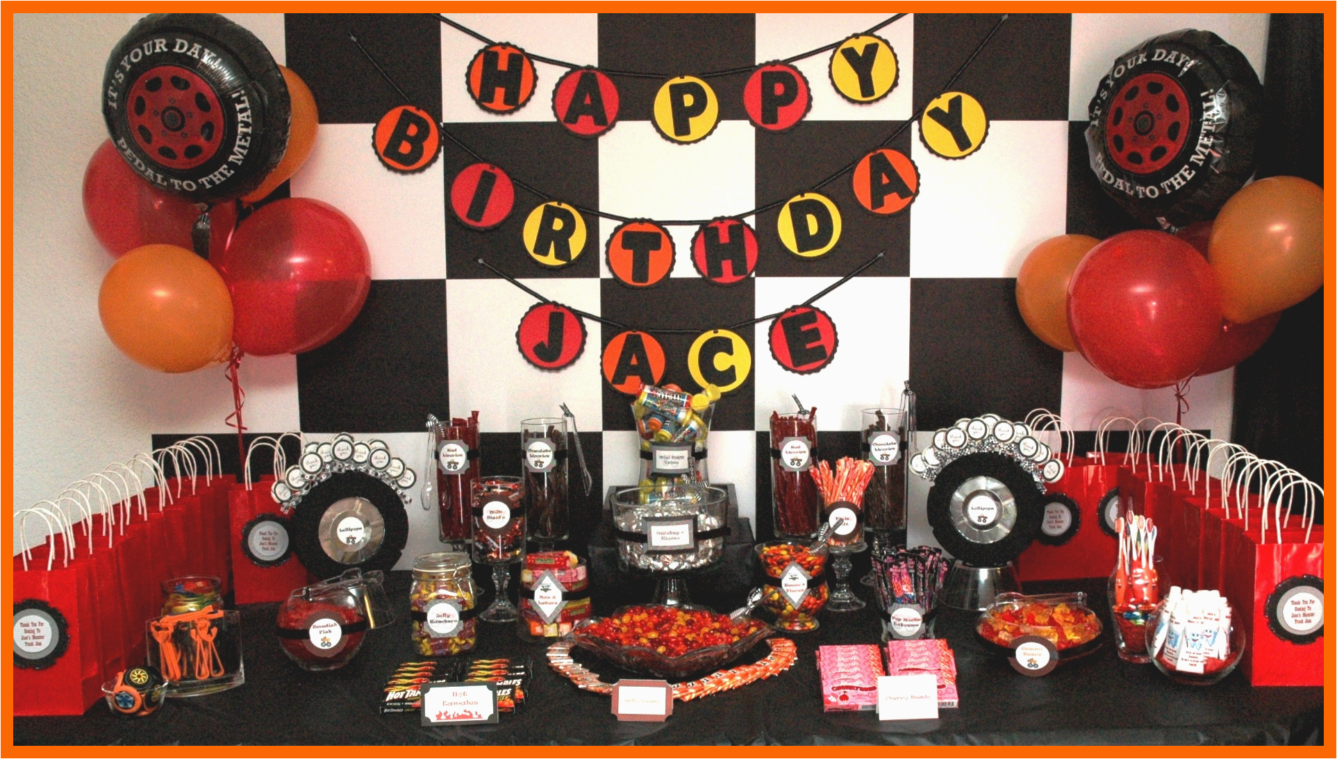 Monster Truck Decorations for Birthday Party An eventful Party Monster Truck 5th Birthday eventful