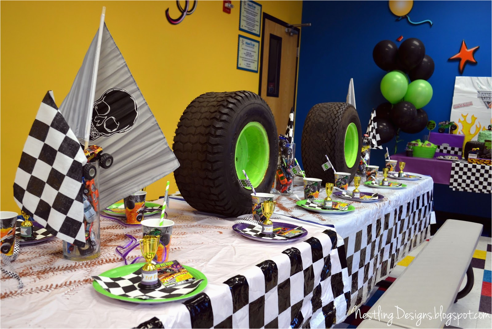 monster truck party reveal