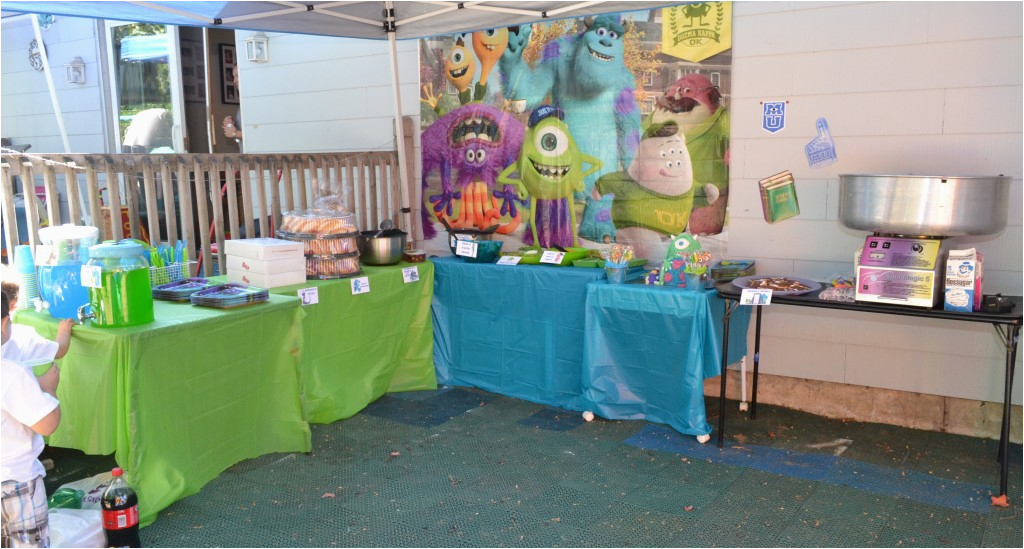 Monsters Inc Birthday Party Decorations Monsters Inc Birthday Party Ideas