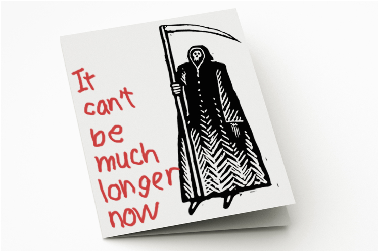 Morbid Birthday Cards Greeting Cards for the Terminally Ill are A Great Idea