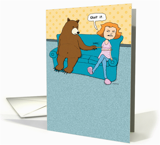 Most Annoying Birthday Card Funny Annoying Bear Birthday Card 1296312