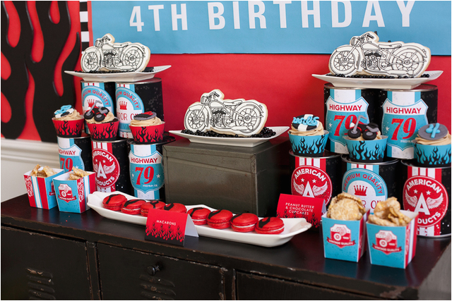 motorcycle birthday party 2