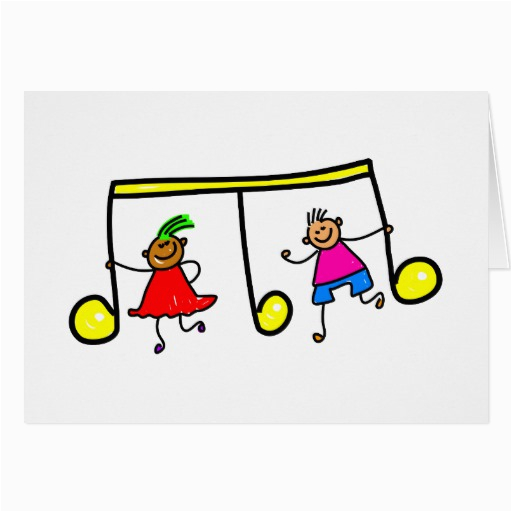 Musical Birthday Cards for Children Music Kids Greeting Cards Zazzle
